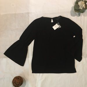 Sanctuary Tops - NWT Sanctuary Bell Sleeves Knit Blouse - S